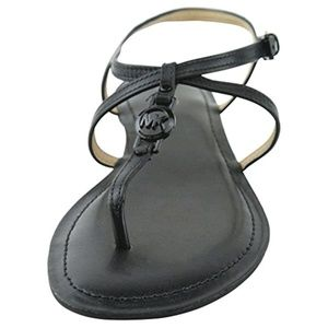 Michael Kors Shoes - Michael Kors all black sandals in new condition